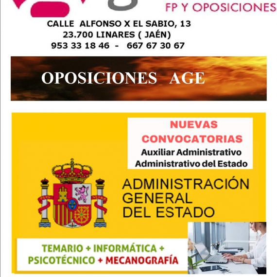 OPOSICIONES A ADMINISTRATIVO (AGE)