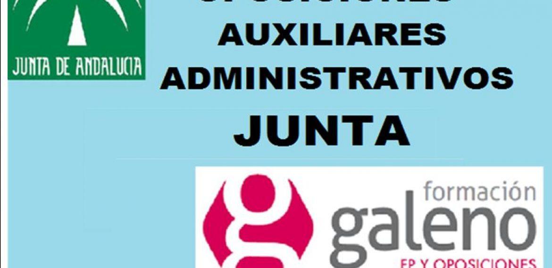OPOSICIONES AUXILIAR ADMINISTRATIVO JUNTA