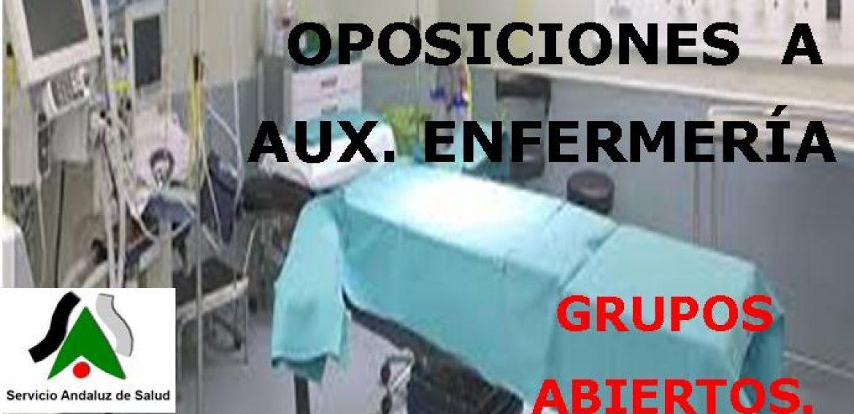 OPOSICIONES AUXILIAR DE ENFERMERÍA SAS