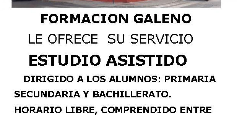 ESTUDIO ASISTIDO PRIMARIA, SECUNDARIA Y BACHILLER.