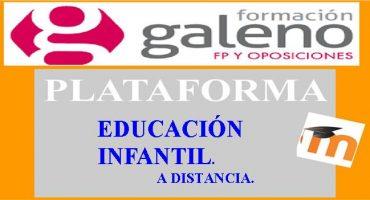 PLATAFORMA EDUCACION INFANTIL A DISTANCIA